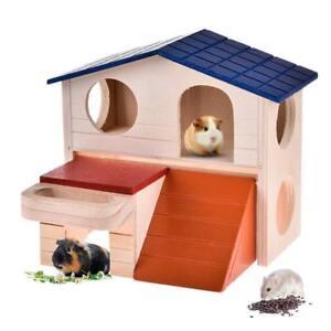 House Bed Cage Nest For Small Animal Pet Hamster Hedgehog Guinea Pig_Castle