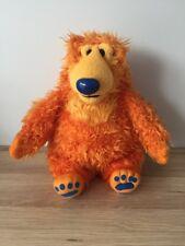 """Bear nella grande casa blu - 13"""" VINTAGE Beanie Soft Toy-MATTEL-Jim Henson"""