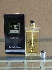 NERO SCURO by SERGIO SOLDANO for MEN 3.4oz (100ml) EDT SPRAY ** NEW IN BOX *RARE