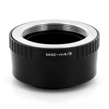Zykkor M42 Mount Lens to Micro 4/3 Body Adapter Mount Olympus EP-1 EP-2