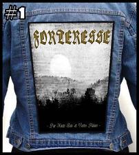 FORTERESSE  === Huge Back Jacket Patch Backpatch === Various Designs