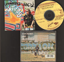 COUNTRY Joe McDONALD CARRY ON 10 track NEW CD 1996 RAG BABY Records