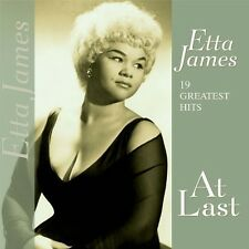 19 Greatest Hits-At Last - Etta James (Vinyl Used Very Good)