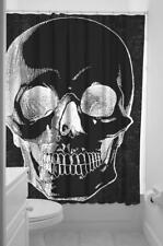 Sourpuss Anatomical Skull Shower Curtain NEW Goth Punk Horror Macabre Home Metal
