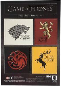 Game of Thrones House Sigil Magnet Set New FREEPOST