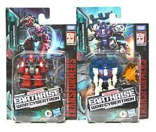 Transformers Earthrise BattleMasters Wave 1 Set Smashdown Soundbarrier