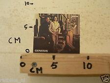 STICKER,DECAL GENESIS PHIL COLLINS  MUSIC , JOEPIE,