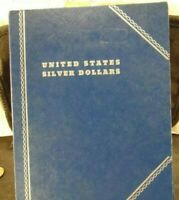 USED WHITMAN US SILVER DOLLARS COIN(1888D-1895O) BOOK(21519)