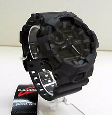New Casio G-Shock Dark Gray Ana Digi World Time Watch GA-700UC-8A