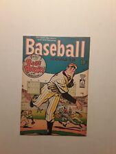 Baseball Comics #1, 1949 Will Eisner Pub., Very Rare 1st Print, Beautiful Book.
