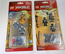 LEGO Ninjago Minifigure Accessory Sets 2 pack lot Elemental Masters Oni Villains