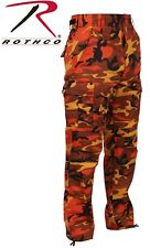 Rothco Camouflage Digital 6-Pocket Military Tactical BDU Cargo Fatigue Pants