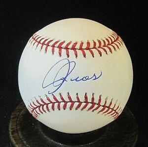 Armando Rios Signed OML Baseball COA, San Francisco Giants, Pirates, White Sox
