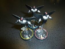Marvel Heroclix Sinister MACH-1/3/4 Complete REV Set - Includes three figs