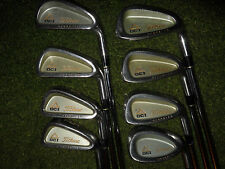 LADIES TITLEIST GOLF CLUBS DCI OVERSIZE IRONS WITH STEEL WOMENS FLEX SHAFTS LOOK