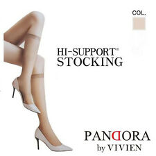 5 Pair VIVIEN Women Lady Knee Thigh Stockings High Support High Socks Tights
