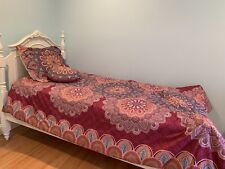 Alex And Zoe, X-Long 3 Piece Reversible Comforter Set-used, excellent condition!