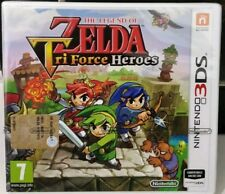 The Legend of Zelda Triforce Tri Force Heroes  3DS/2DS SIGILLATO ITALIANO NUOVO!