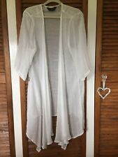 Beautiful ivory silky kimono ladies' plus size (22-24) from Yours Clothing