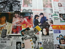 MICHAEL JACKSON - CUTTINGS/CLIPPINGS COLLECTION (REF T10)