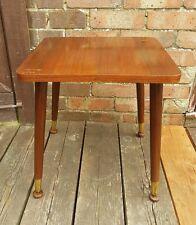 1950/60s RETRO Lamp/Side table with Dansette legs