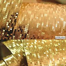 3d Roll Gold Foil Silver Ceiling Luxury Glitter Mosaic