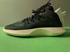 best sneakers d33d5 57577 Nueva Marca Adidas Crazy 1 ADV Núcleo Negro Blanco Apagado Blanco Talla 11  baloncesto