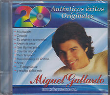 CD - Miguel Gallardo NEW 20 Autenticos Exitos Orginales - FAST SHIPPING !