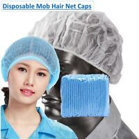 Hair Net Disposable Hair Nets Hairnet Mob Caps Catering Cap Head Cover Nets Food