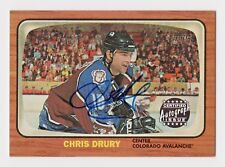 2002-03 Topps Heritage Autographs #CD Chris Drury Colorado Avalanche