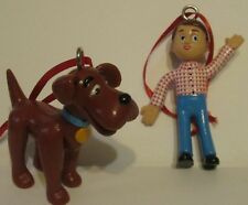 Davey & Goliath Bendable Artesian Figure Ornaments Evangelical Lutheran Church
