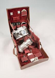 Zeiss Ikon Contax 111A Camera, Lenses & Original Case.