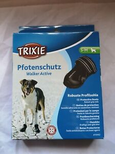 Trixie Walker Active Protective Dog Boots Shoes 19462 Small Med Paw Protection