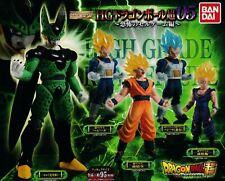 New Dragon Ball Super 05 HG Gashapon Capsule 5 Figure Full Set Cell Vegeta etc
