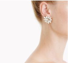 J. Crew Crystal burst earrings
