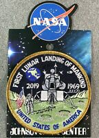 NASA FIRST LUNAR LANDING OF MANKIND PATCH APOLLO 11 Official Authentic SPACE 4""