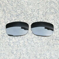 RAWD Stealth Black Replacement Lenses for-Oakley TwoFace OO9189 POLARIZED