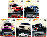 2020 Hot Wheels Premium POWER TRIP Set of 5 Die cast Cars CULTURE Barracuda GMC
