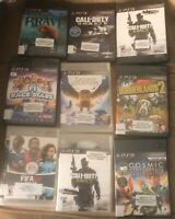 LOT OF 26 VIDEO GAMES PS2 PS3 XBOX