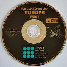 Navigation Toyota Lexus ORIGINAL Navi DVD E1F 2018 West Europe West Europa