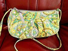 Vera Bradley crossbody Small tote Lemon Parfait adjustable strap yellow purse