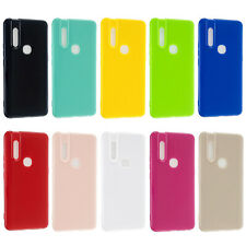 For Vivo V11i V15 Y17 Y91 Y93 OnePlus 7 7T Silicone Soft TPU Rubber Cover Case