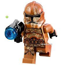 LEGO STAR WARS - GEONOSIS CLONE TROOPER 2 FIGURE + GIFT - 75089 - 2015 - NEW