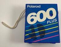 polaroid radio 600 Plus Camera AM FM Blue