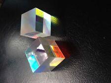 2pcs 2X2X1.7Cm Colorful Defective X-Cube Prism Physic Teaching or Diy Decoration