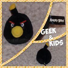 Peluche Angry Birds Noir - 12cm - Ref C31B