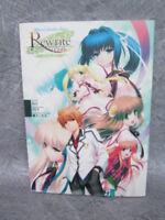 REWRITE Official Another Story Illustration Novel KEY ZEN Art Book Japan MW89*