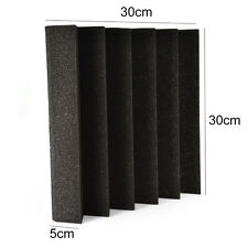 30*30*5cm Acoustic Foam Studio Wall Panels Room Sound Absorption Treatment