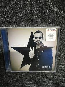 Ringo Starr - What's My Name  (NEW & SEALED CD 2019) Album. Freepost In Uk