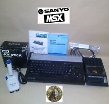 Computer msx sanyo-model mpc-100... is in good condition.